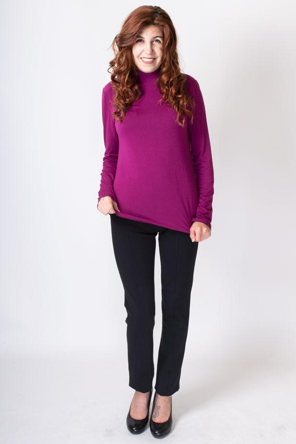Tonya Top, Amaranth, Bamboo - Blue Sky Clothing Co