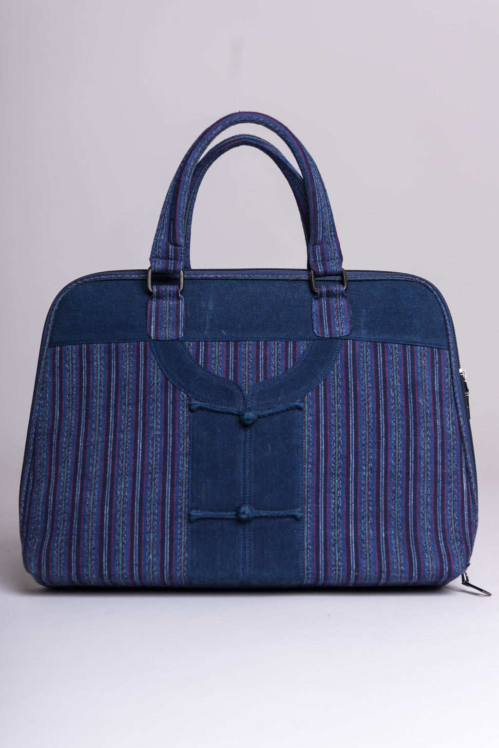 Miao Bag, Men Pattern, Indigo - Blue Sky Clothing Co