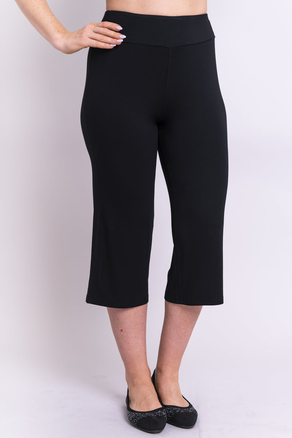 Yoga Capri, Black