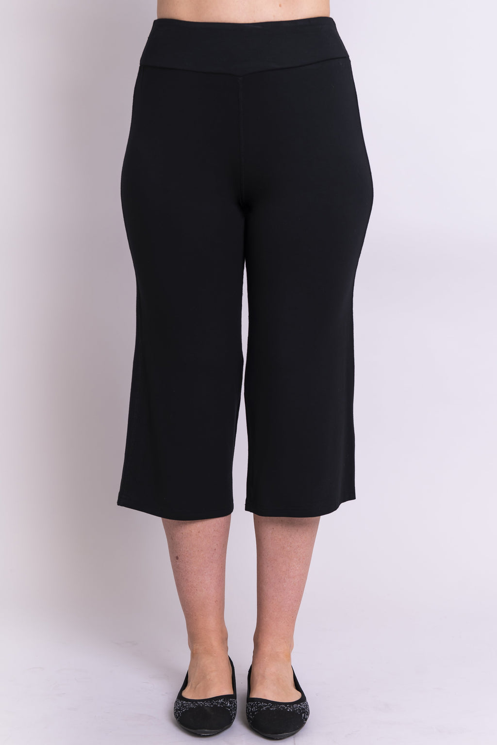Yoga Capri, Black - Blue Sky Clothing Co