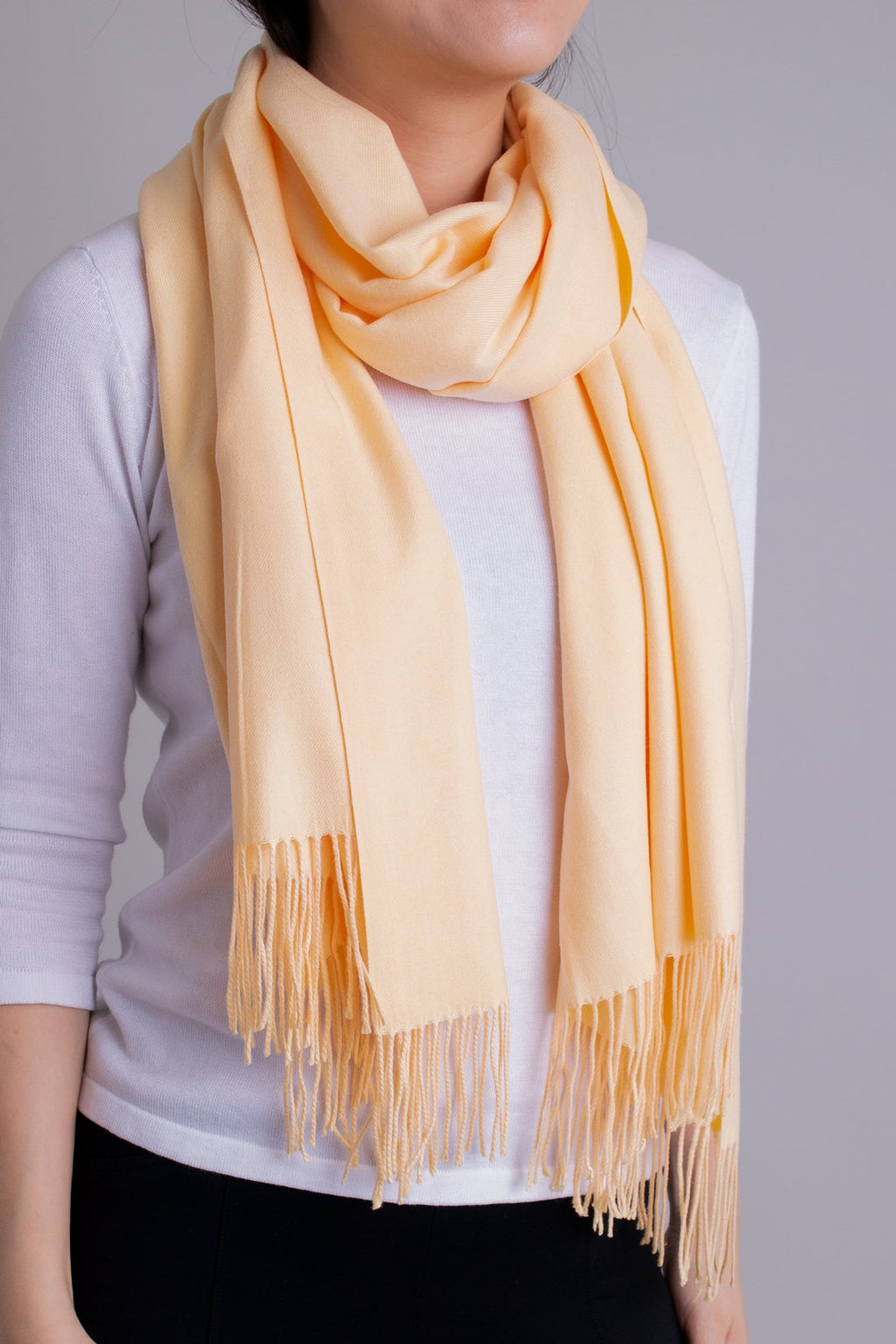 Cozy Scarf, Butter