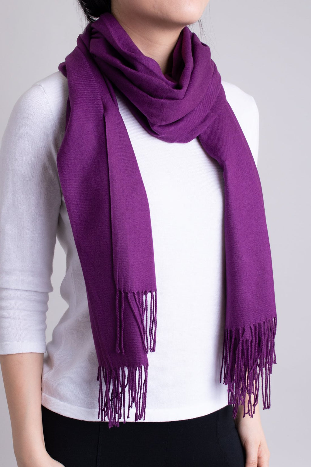 Cozy Scarf, Orchid