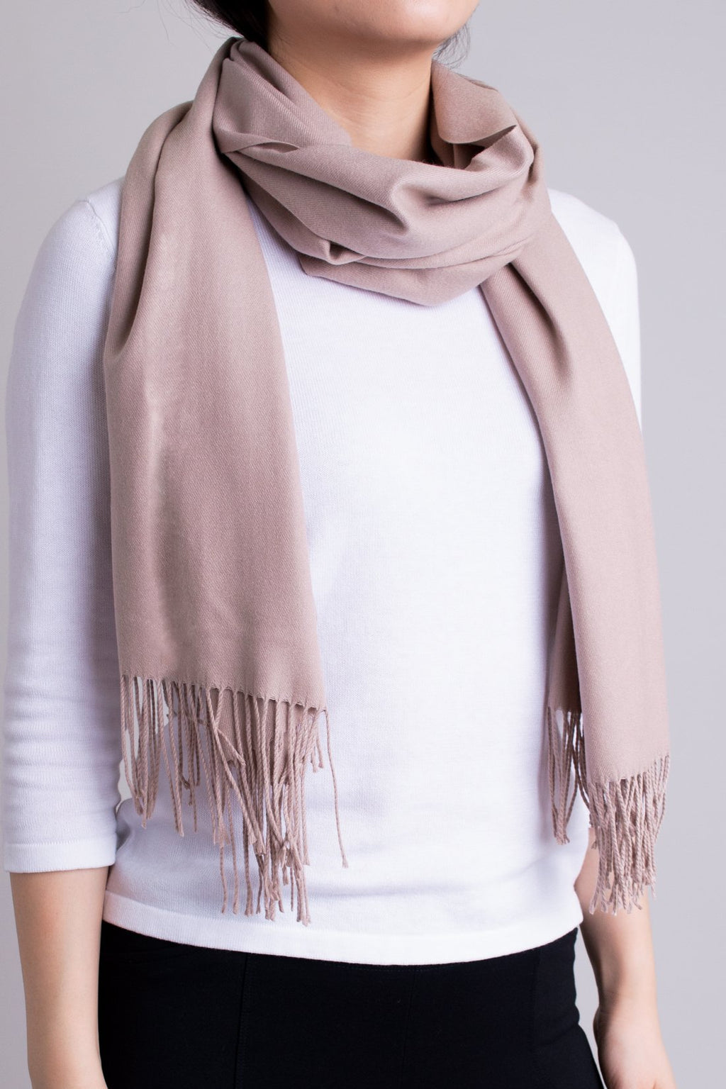 Cozy Scarf, Taupe