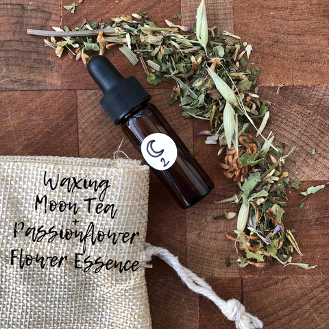 Waxing Moon tea + essence