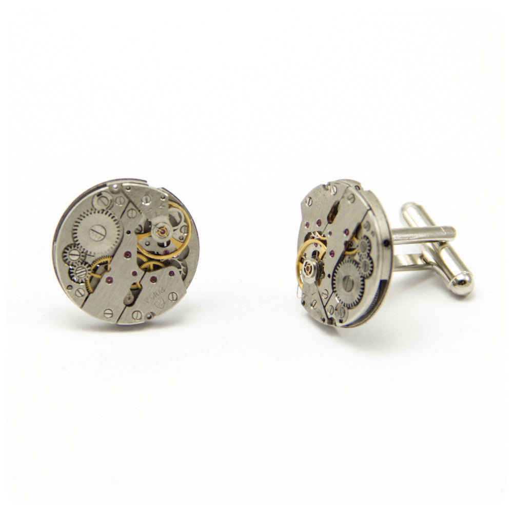 Watch Cufflinks - Round