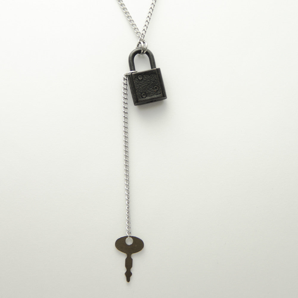 Under Lock and Key Necklace