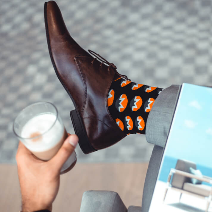 Kryptoez Monero Crypto Mens Socks