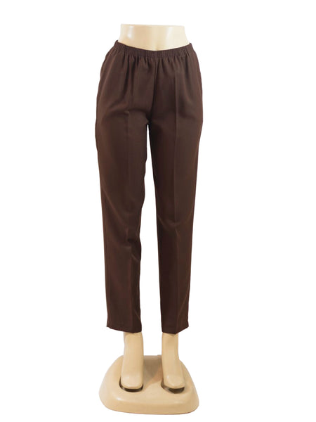 BROWN PULL ON DRESS PANTS WHOLESALE PACK MADE IN USA LOG IN FOR PRICE
