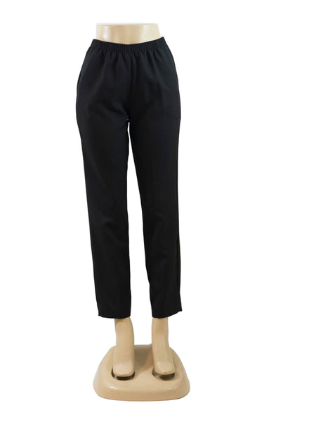 BLACK PULL ON DRESS PANTS WHOLESALE PACK MADE IN USA LOG IN FOR PRICE