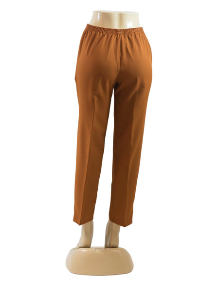 MED BROWN PULL ON DRESS PANTS WHOLESALE PACK MADE IN USA LOG IN FOR PRICE