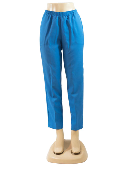 LIGHT BLUE PULL ON DRESS PANTS WHOLESALE PACK MADE IN USA LOG IN FOR PRICE