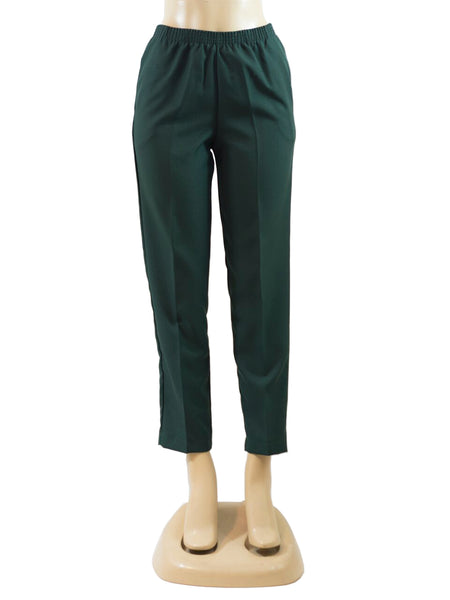FOREST GREEN PULL ON DRESS PANTS WHOLESALE PACK MADE IN USA LOG IN FOR PRICE