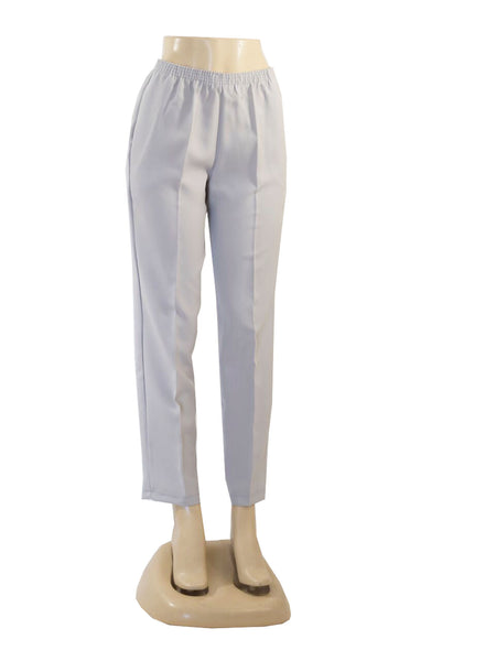 LIGHT GREY PULL ON DRESS PANTS WHOLESALE PACK MADE IN USA LOG IN FOR PRICE