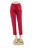 RED PULL ON DRESS PANTS WHOLESALE PACK MADE IN USA LOG IN FOR PRICE