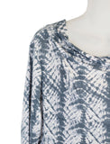 Women's Drape Neck 3/4 SLv Blouses Wholesale Pack. Print #4 | Made in the USA #1112PR