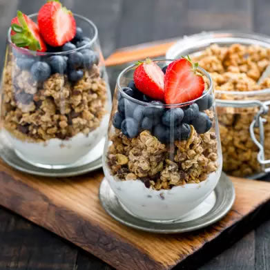 DIY Granola and Yogurt Bar