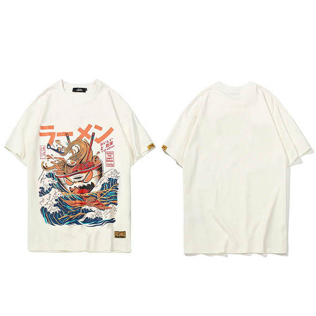 Japanese Harajuku T-Shirt Men