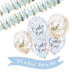 'It's a Boy' Party Kit