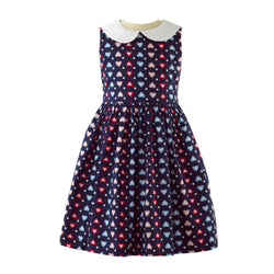 Heart Peter Pan Collar Dress