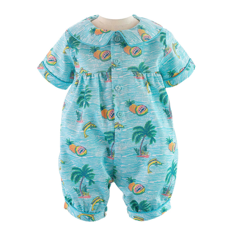 Tropical Babysuit