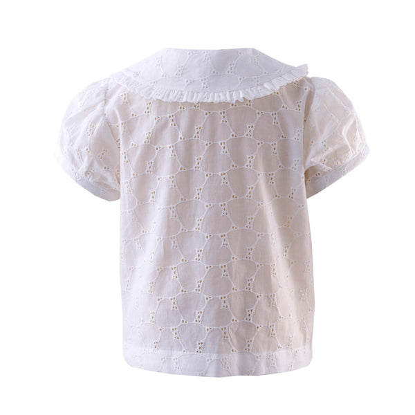 Heart Broderie Blouse