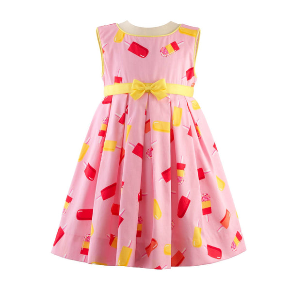 Ice Lolly Sleeveless Dress & Bloomers