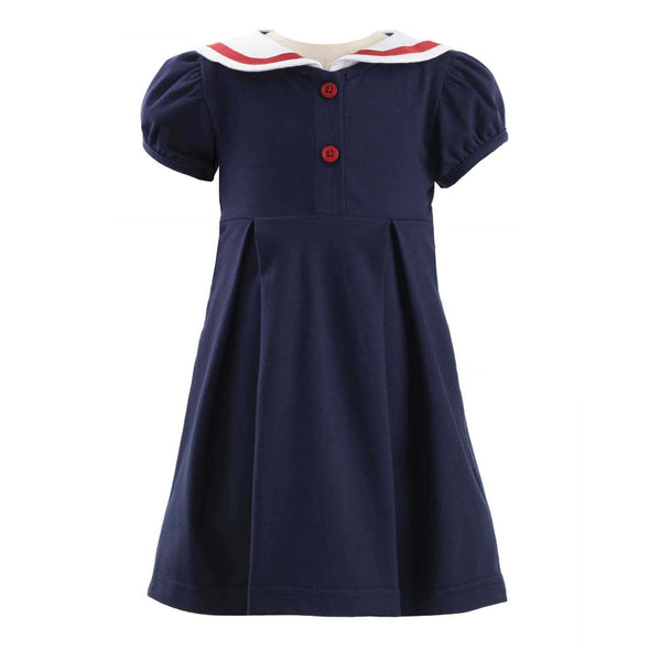 Jersey Sailor Dress & Bloomer