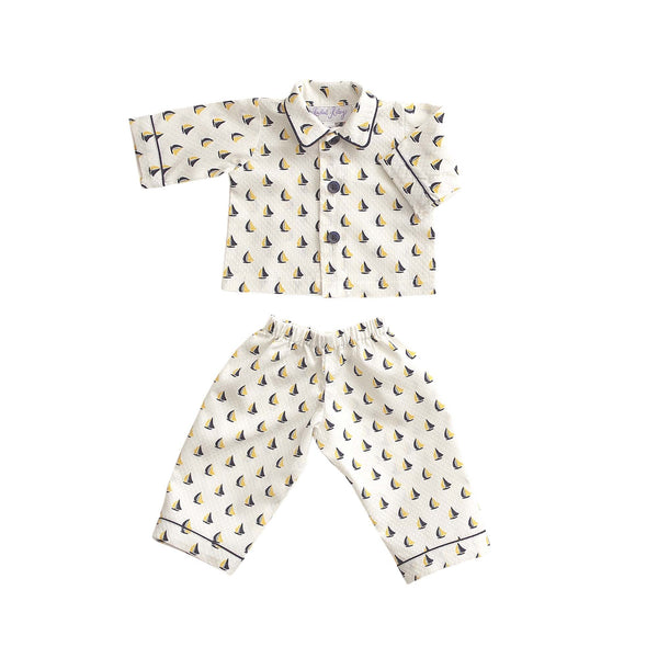 Teddy Sailboat Pyjamas