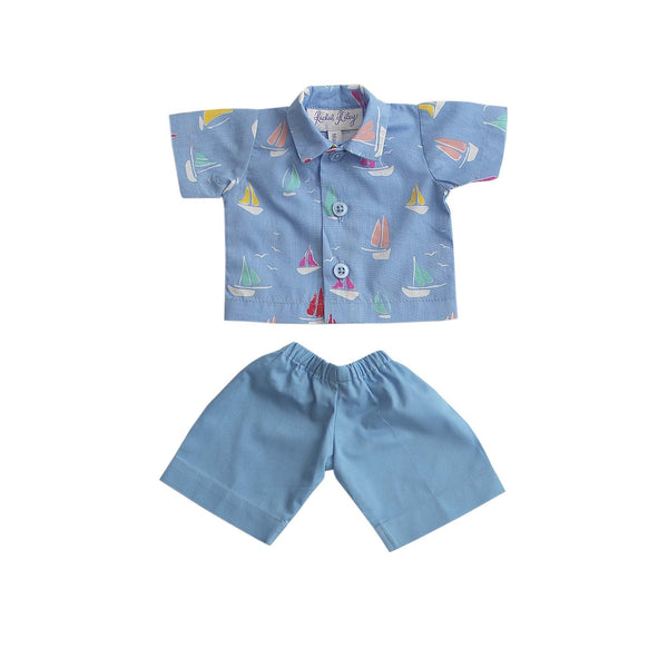 Teddy Sailboat Set