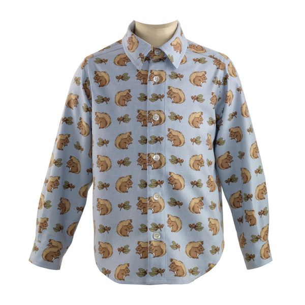 Squirrel Flannel Shirt