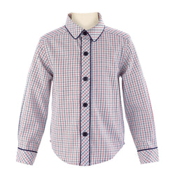 Tattersall Piped Shirt