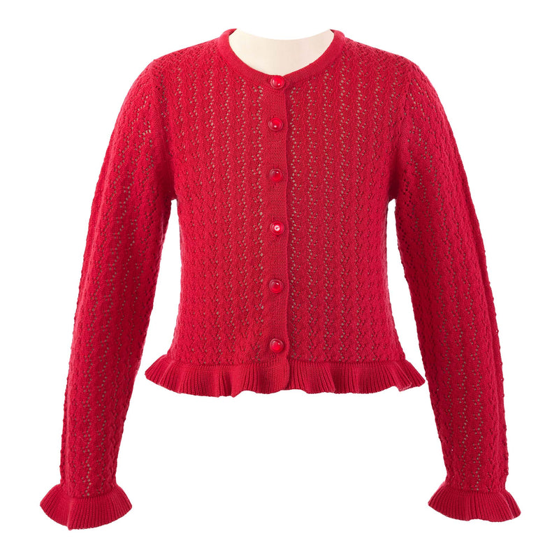 Lace Frill Cardigan