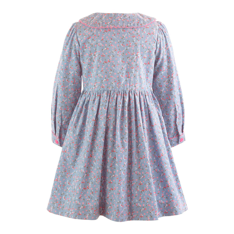 Babycord Button Front Dress