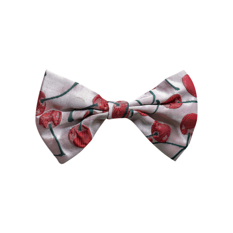 Cherry Damask Maxi Hair Clip