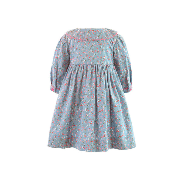 Babycord Button Front Dress & Bloomer