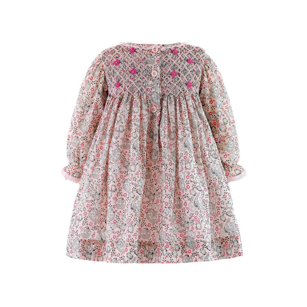 Posy Smocked Dress & Bloomer