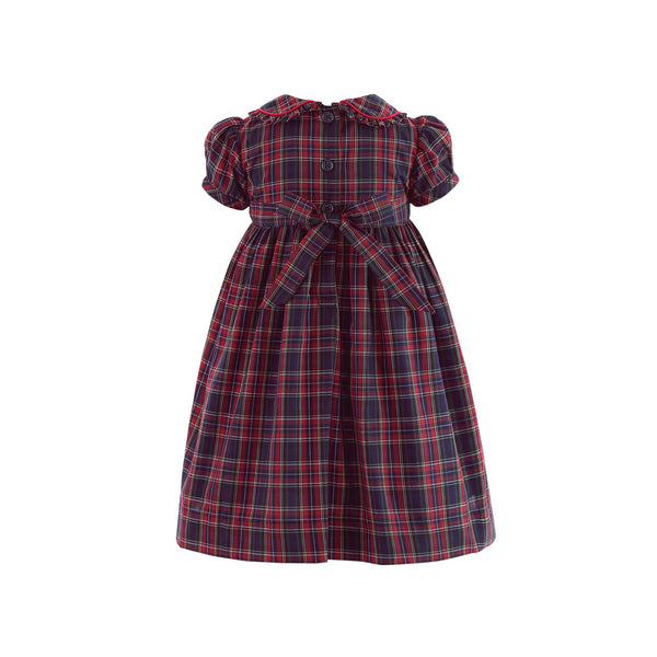 Tartan Frill Dress & Bloomers