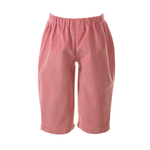 Bow Babycord Pull On Trousers