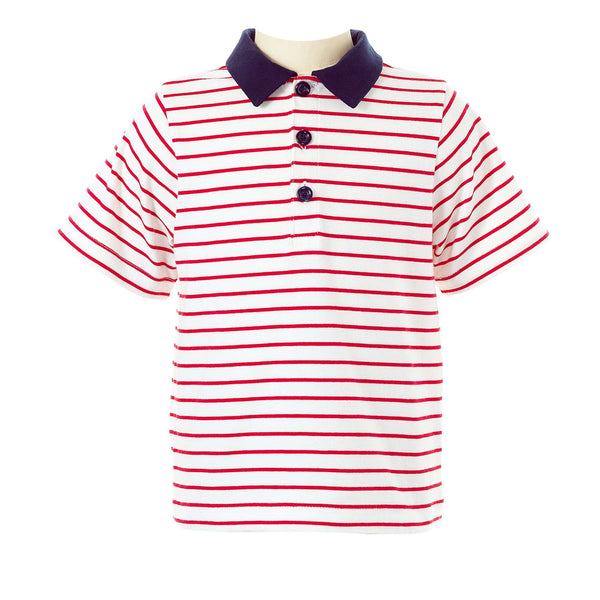 Striped Polo