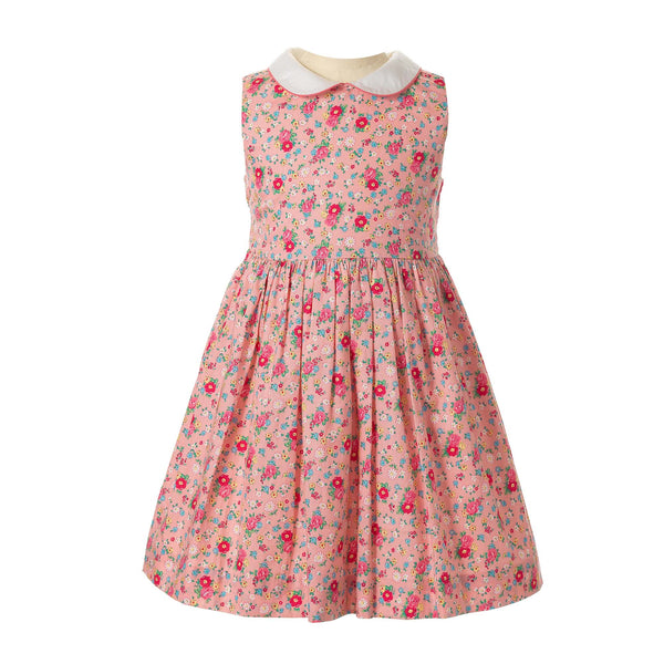 Rose Peter Pan Collar Dress