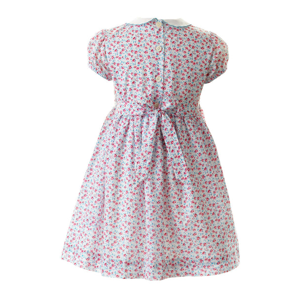 Rose Smocked Dress