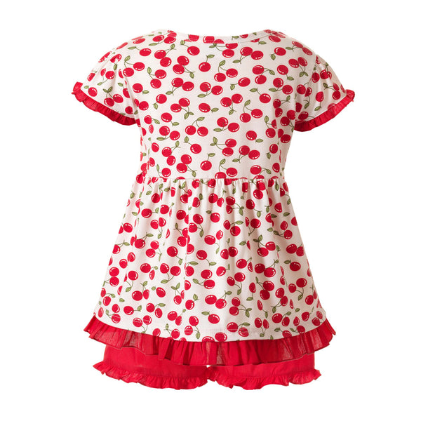 Cherry Top & Short Set