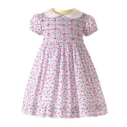 Rose Smocked Dress & Bloomer