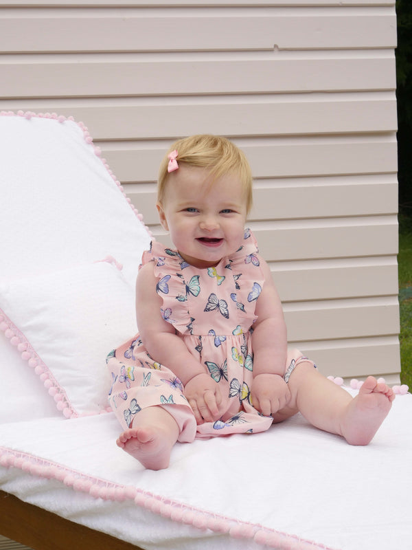 Butterfly Frill Sundress & Bloomer