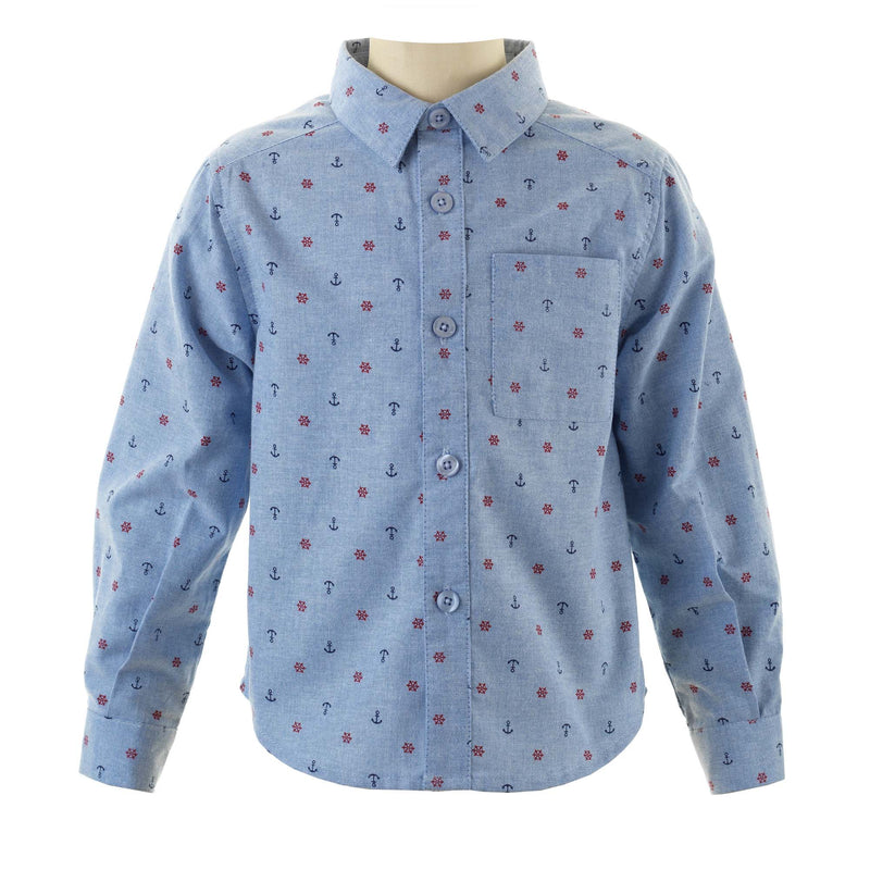 Nautical Oxford Shirt