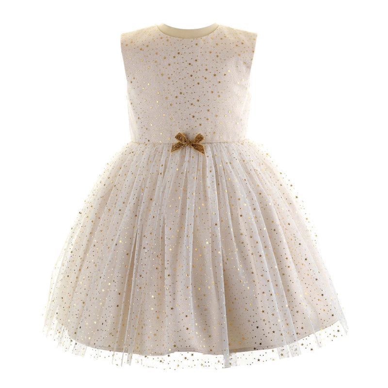 Girls Sparkle Star Tulle Party Dress