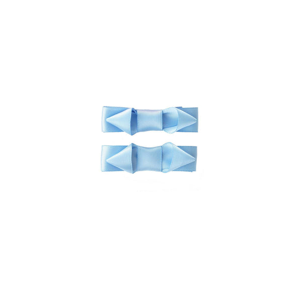 Ribbon Hairslide Set, Blue