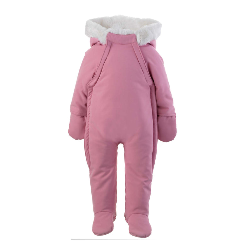 Faux Fur Trim Snowsuit