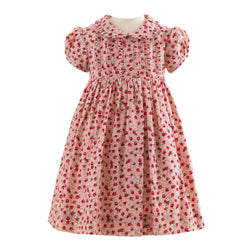 Rosebud Frill Dress & Bloomers