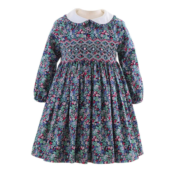 Enchanted Forest Smocked Dress & Bloomers